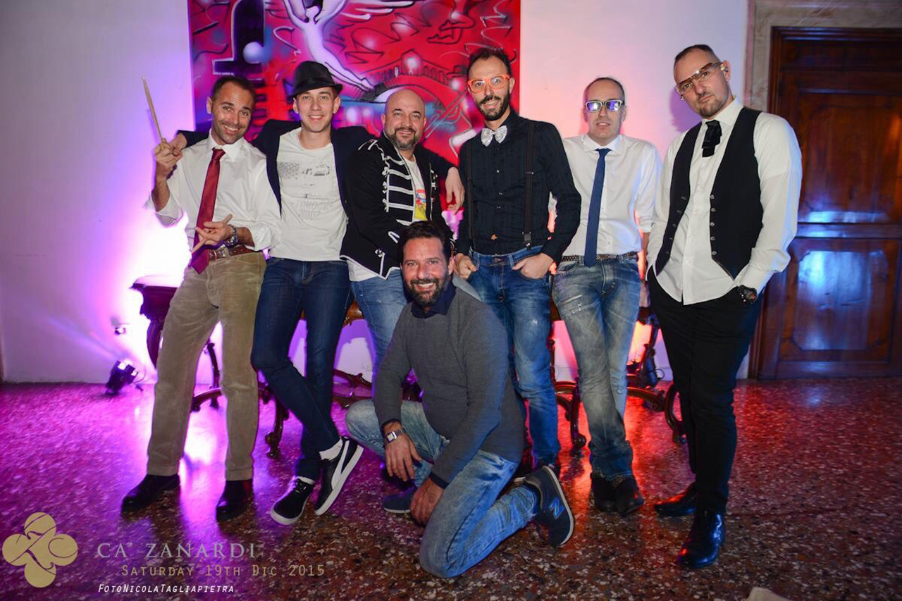 Festa Privata a palazzo ca' Zanardi (Venezia Italia)