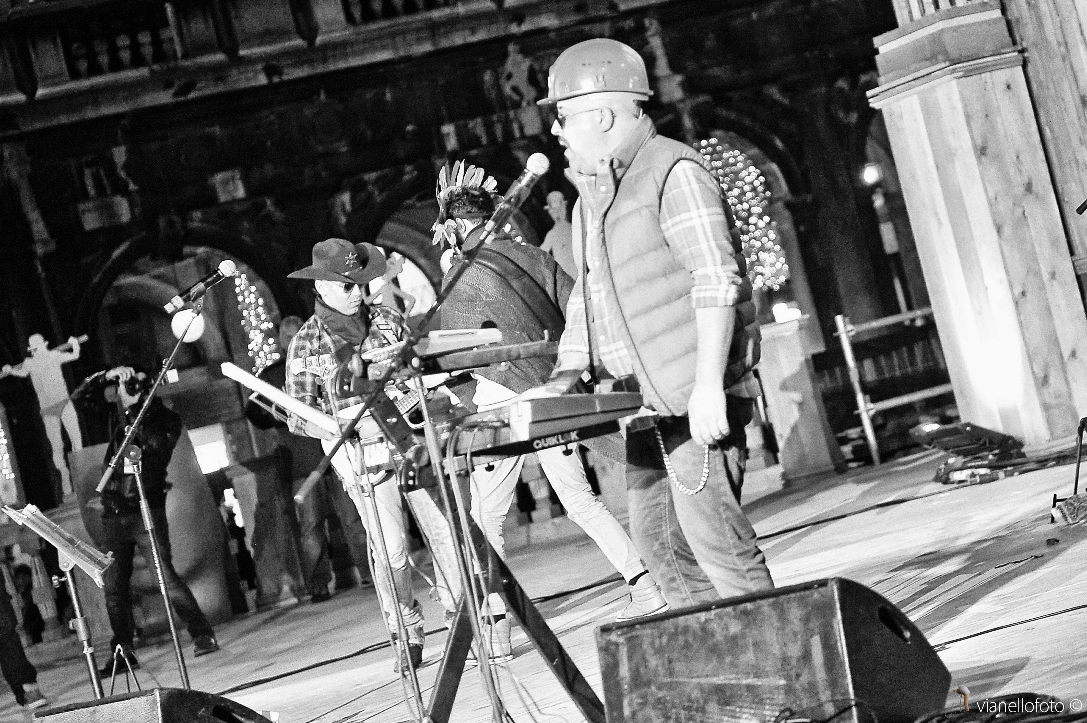 SpazioZero band a San Marco (Venezia Italia)